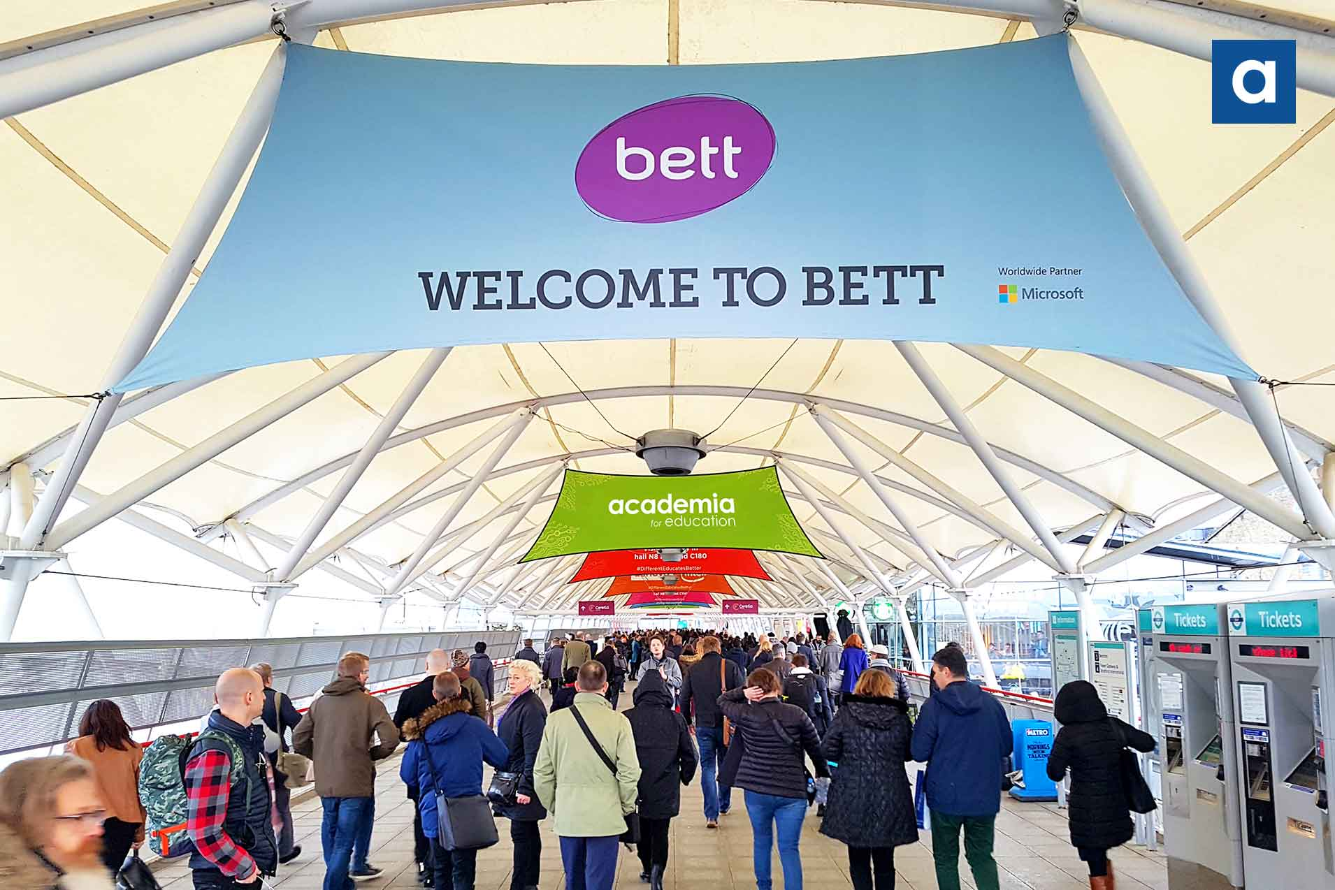 Academia at BETT 2019 – what you may have missed?