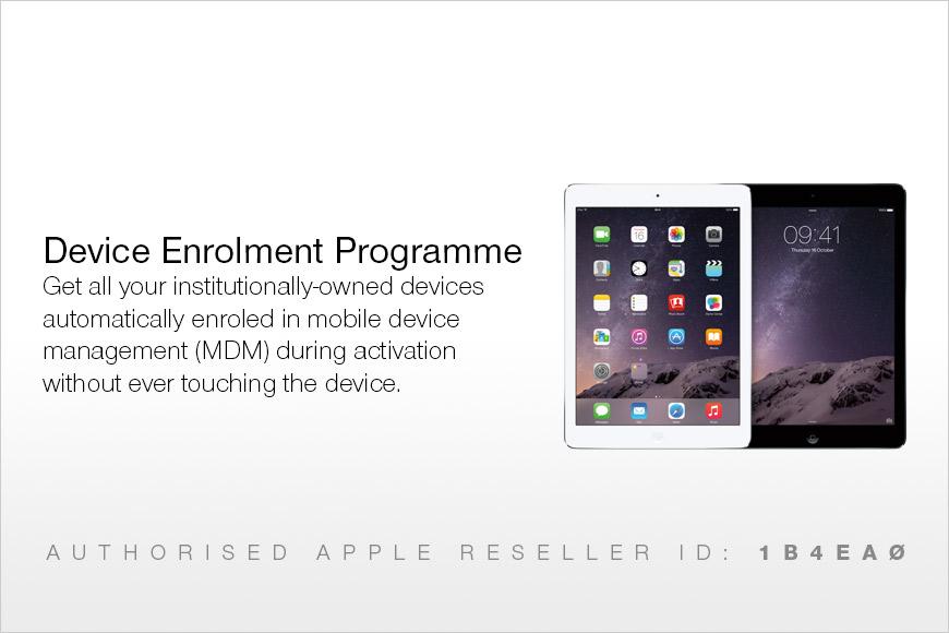 Apple release the Device Enrolment Programme (DEP