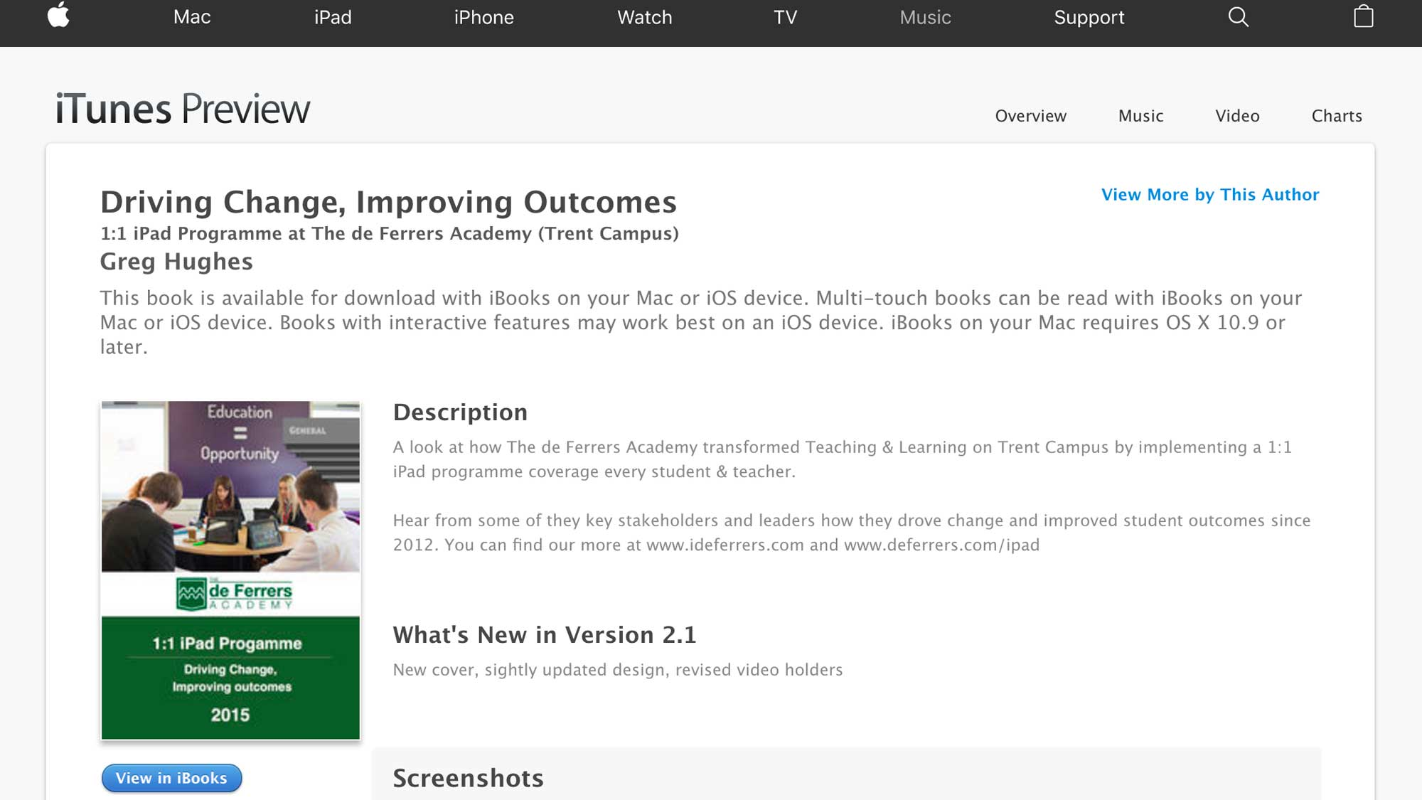 Driving change, improving outcomes - ebook