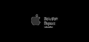 Apple solutions expert logo