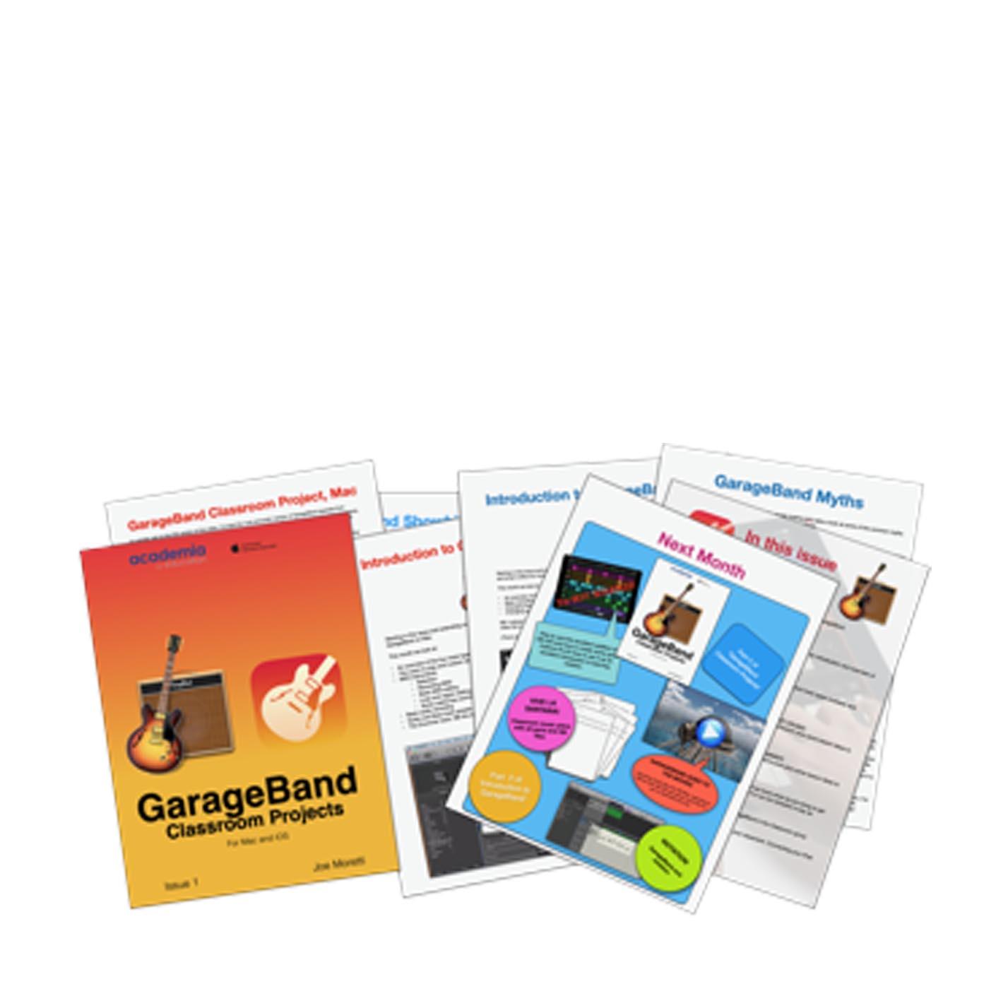 GarageBand Classroom Projects